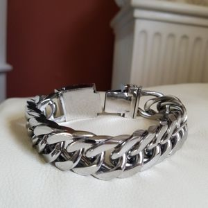 HEAVY STAINLESS STEEL MEN'S BRACELET